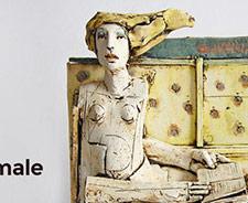 Сайт для скульптора Christy Keeney