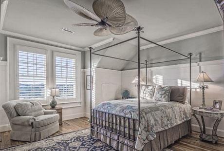 Если вы строите двухэтажный дом с двумя спальнями, то на каком этаже вы бы разместили основную спальню?